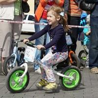 Детская велогонка Веселые гонки